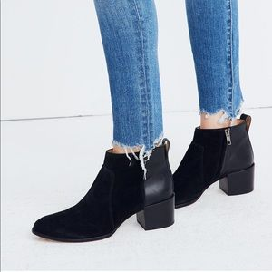 The Asher Boot in Suede and Leather
